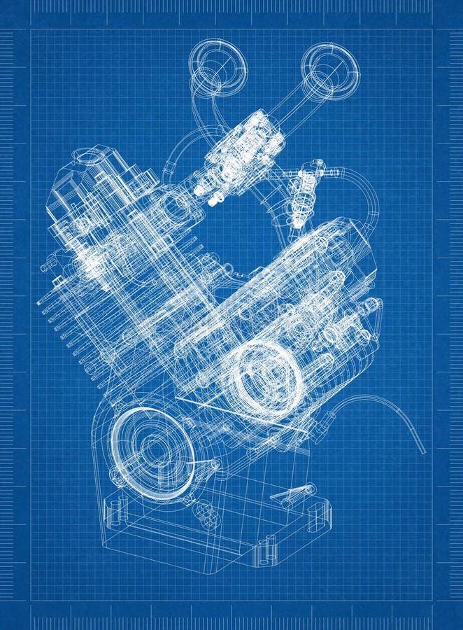Car engine blueprint stock illustration illustration of fuel download car engine blueprint stock illustration illustration of fuel 118396159 malvernweather Choice Image