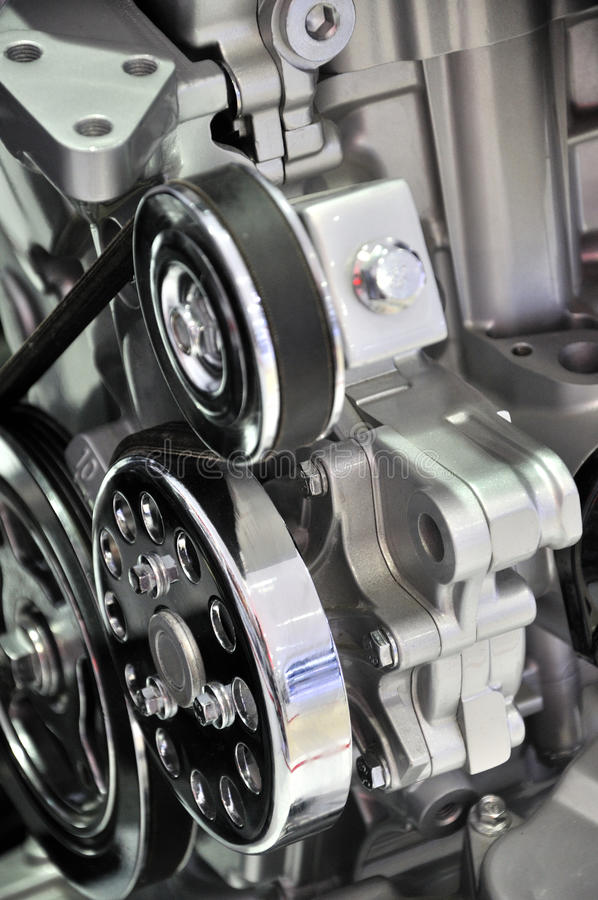 Download Car engine detail stock image. Image of powerful, belt - 20131035