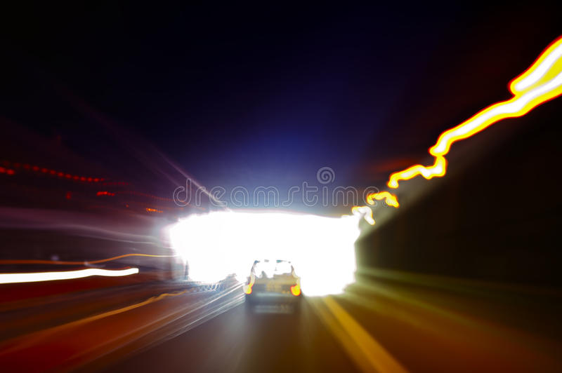 Download Car exiting a dark tunnel stock photo. Image of high - 28974986