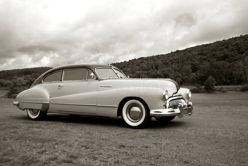 car fast old speeding vintage 库存图片