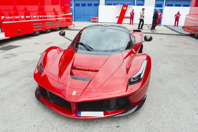 Car Ferrari stock photos