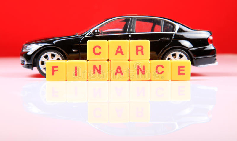 Car finance royalty free stock photography