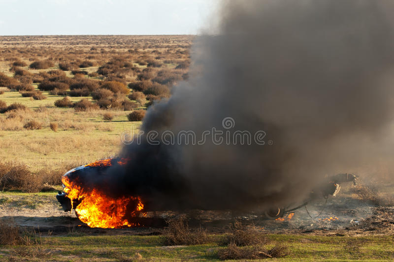 Download Car fire stock image. Image of inferno, crash, heat, black - 24475455