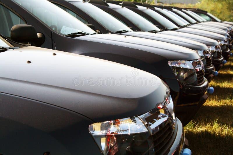 Car Fleet Royalty Free Stock Image