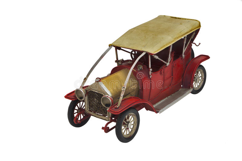 Car Ford Model T. Legendary car model on a white background Ford T royalty free stock photos