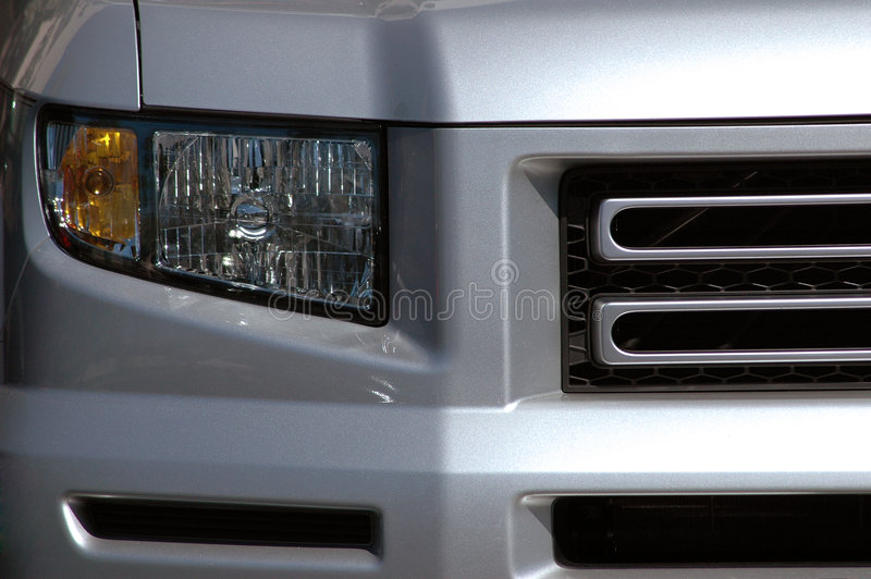 Car front royalty free stock photography
