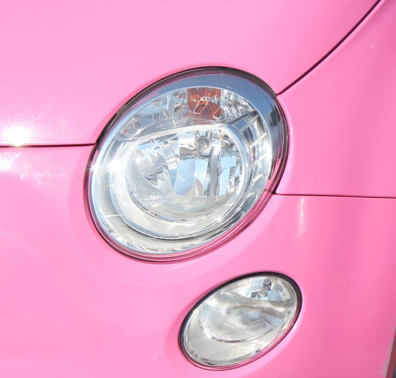 Car Front Light Detail
