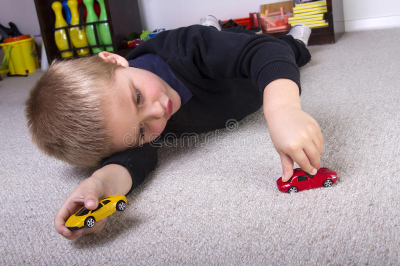Download Car games stock photo. Image of yellow, caucasian, playing - 21431112