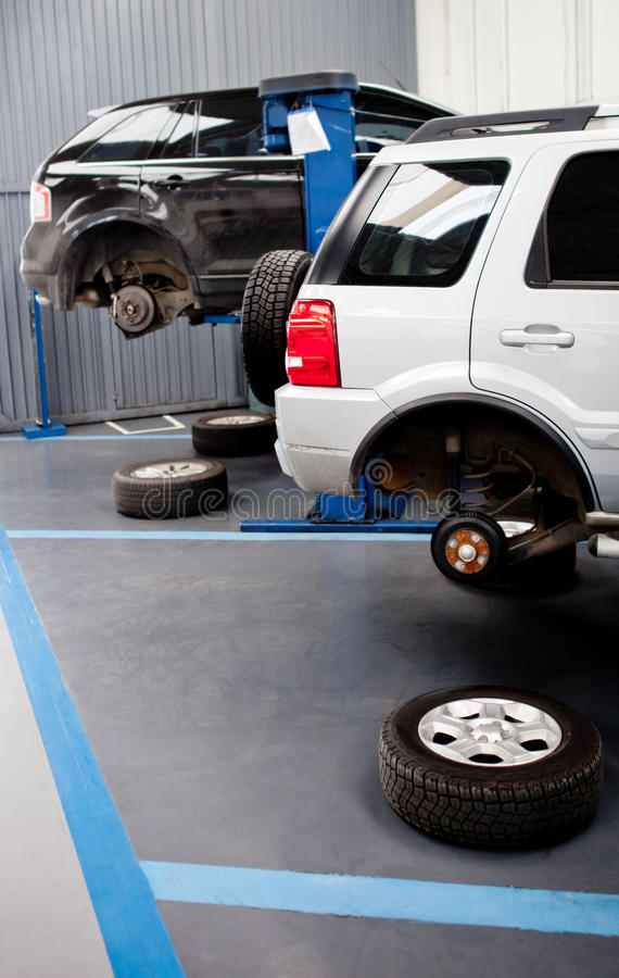 Download Car garage stock image. Image of puncture, cars, vehicle - 23846011