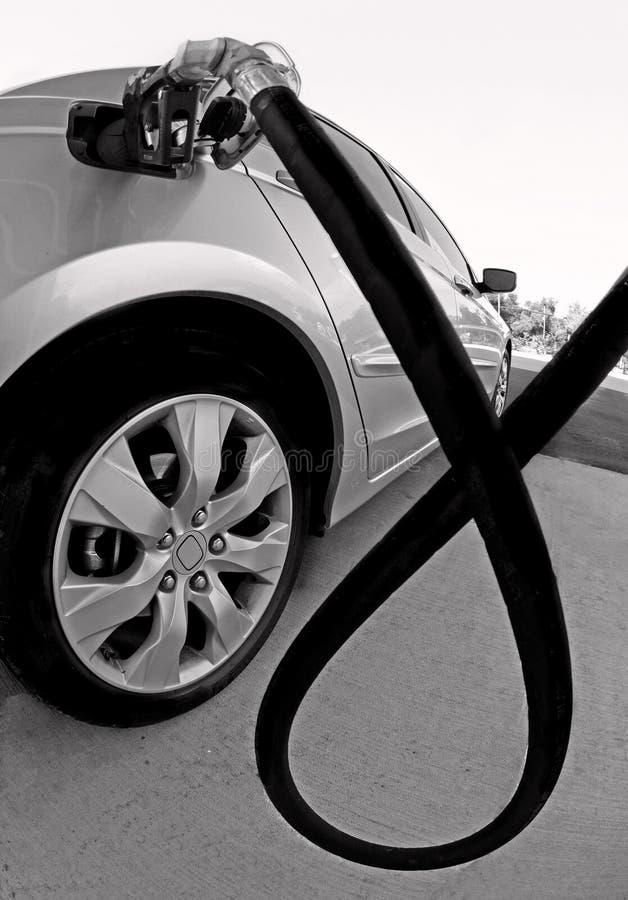 Car at Gas Station stock photos
