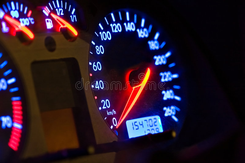 Car gauges royalty free stock images