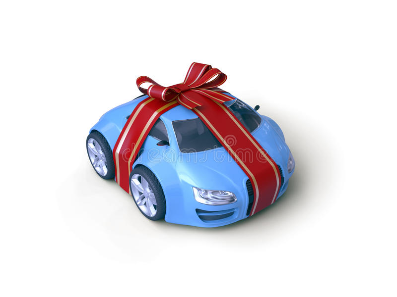 Download Car Gift stock illustration. Image of little, small, plaything - 12177919