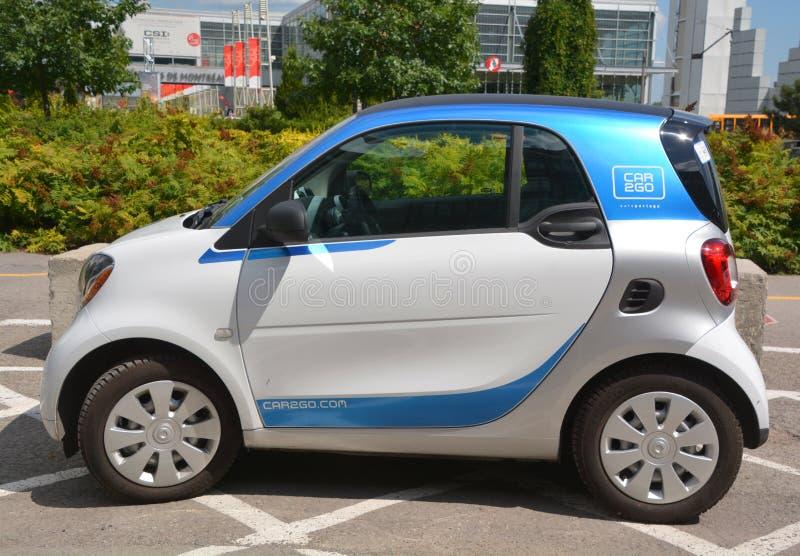 Car2go samochodowego wynajem Niemiecka firma zdjęcie royalty free