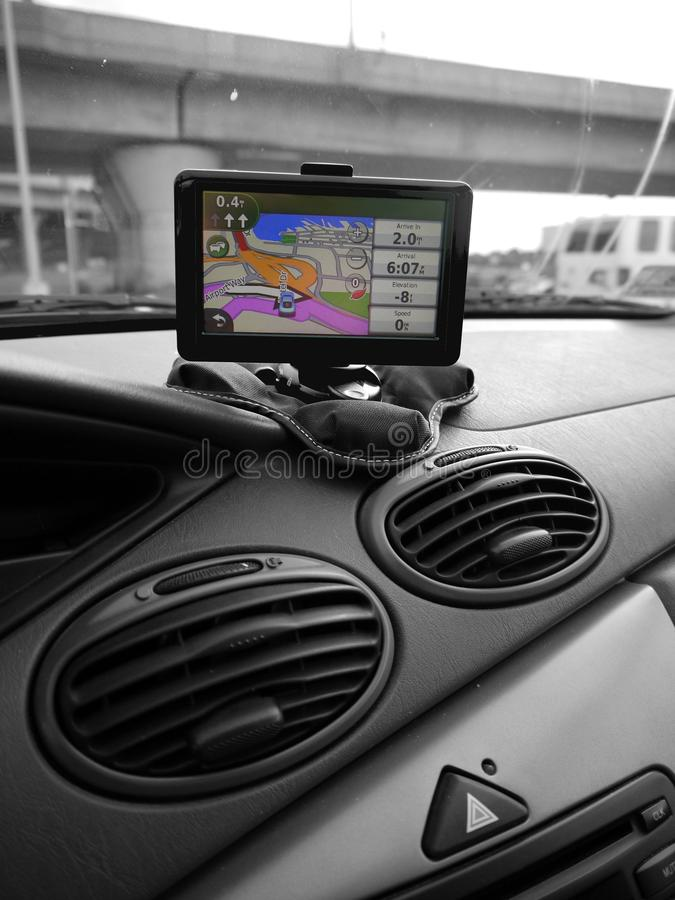 Download Car: GPS system on dash stock photo. Image of dash, street - 20240172