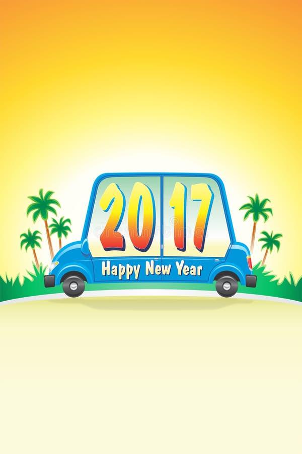 Download Car Happy 2017_JAK-2 stock illustration. Image of road - 83724965