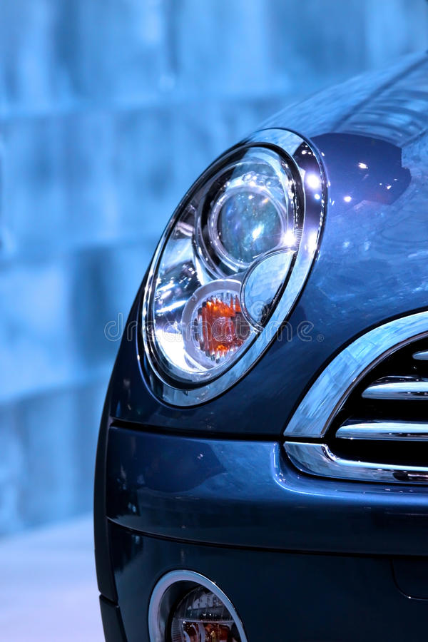 Download Car head lamp stock photo. Image of light, closeup, dynamic - 13601402