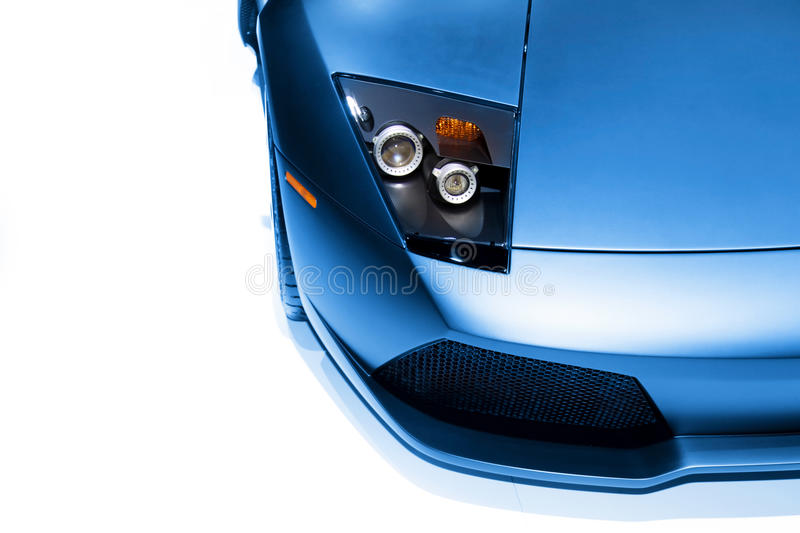 Download Car head lamp stock photo. Image of muscle, metal, automobile - 17543488