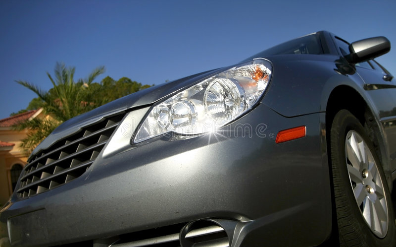Car Head Lamp stock photos
