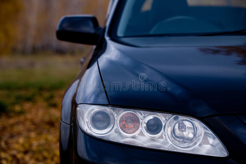 Download Car headlight stock photo. Image of sports, modern, motorized - 11192522