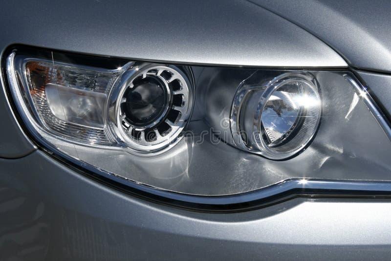 Car headlight royalty free stock photography