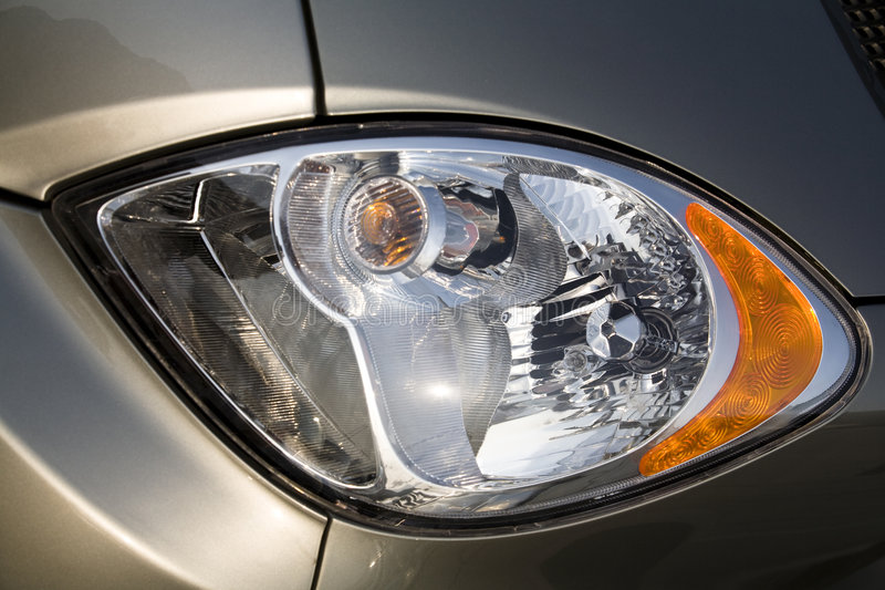 Car headlight stock images