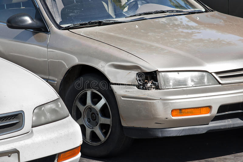 Car Headlight Broken
