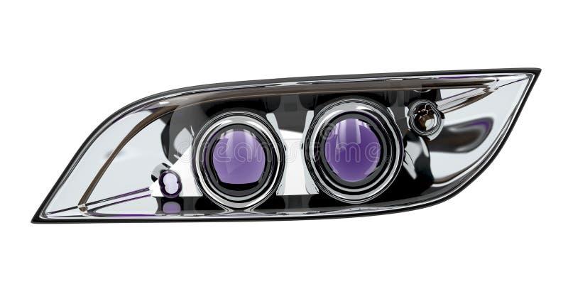 Download Car headlight stock illustration. Illustration of transportation - 33699088