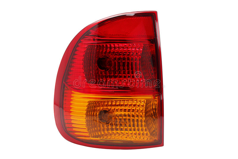 Car headlight. Sample of car rear light royalty free stock image