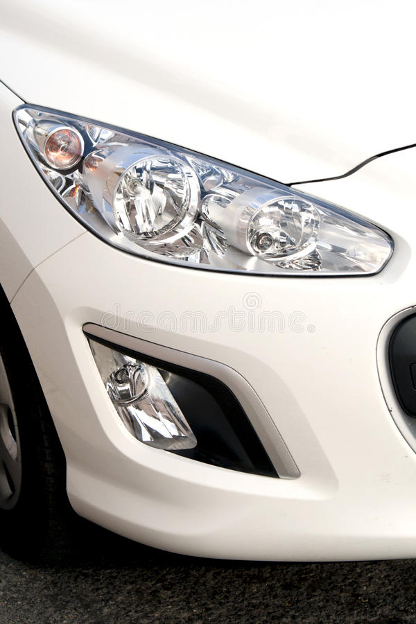 Download Car headlights stock image. Image of fast, black, design - 23662937