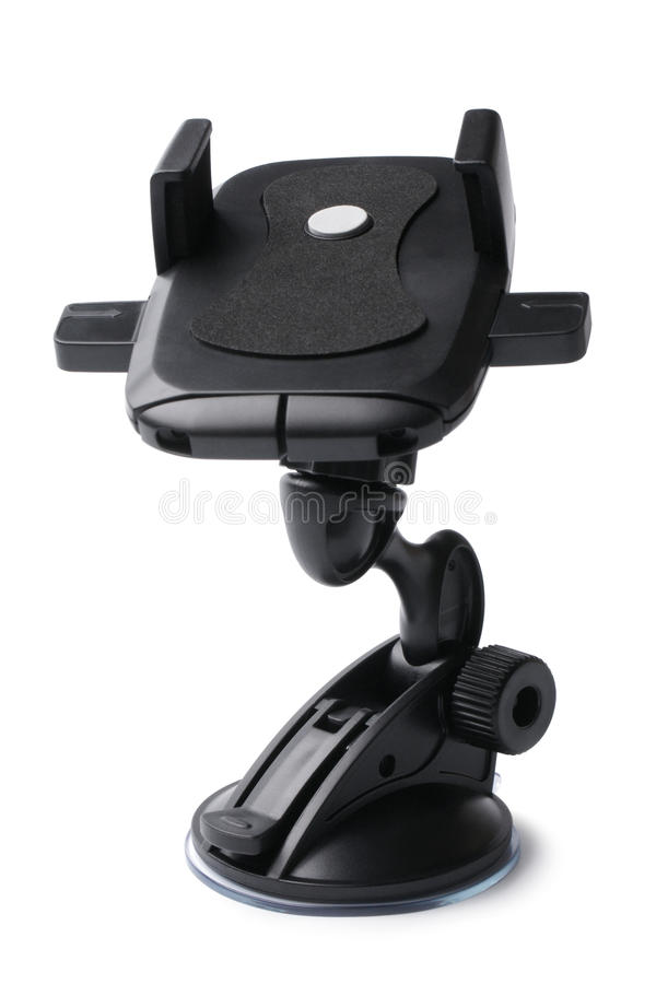 Car holder. On white background royalty free stock photos