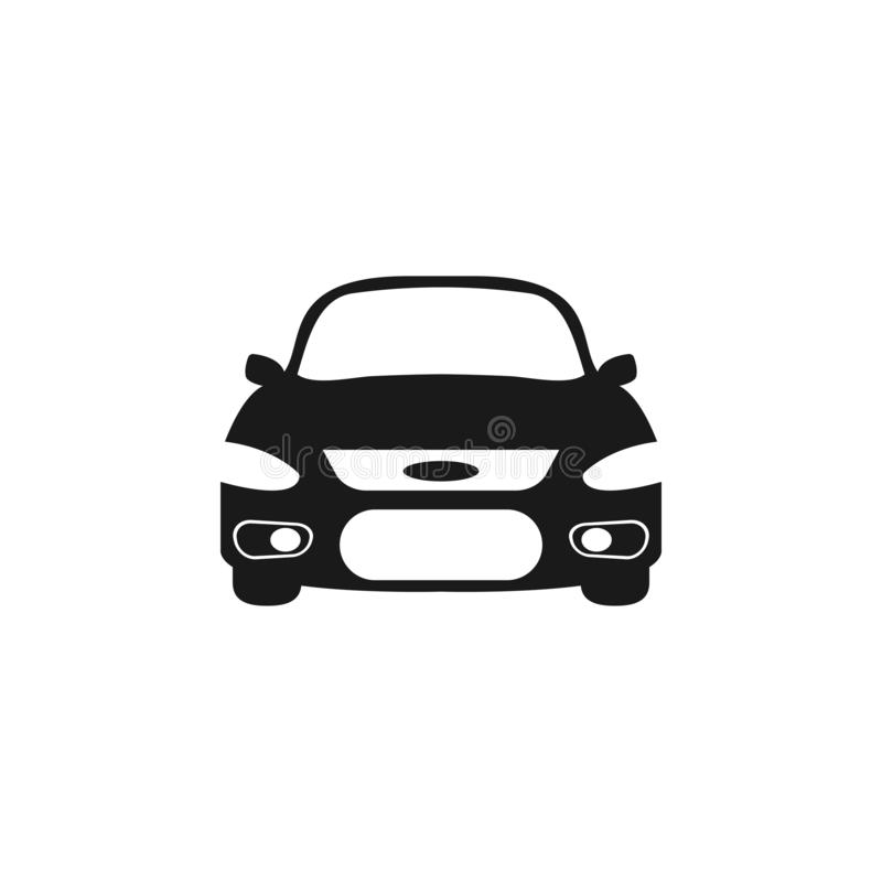 Car icon graphic design template vector isolated royalty free illustration