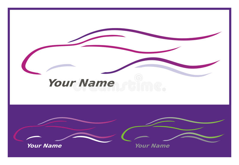 Download Car Icon In Purple / Pink Royalty Free Stock Photo - Image: 16439605