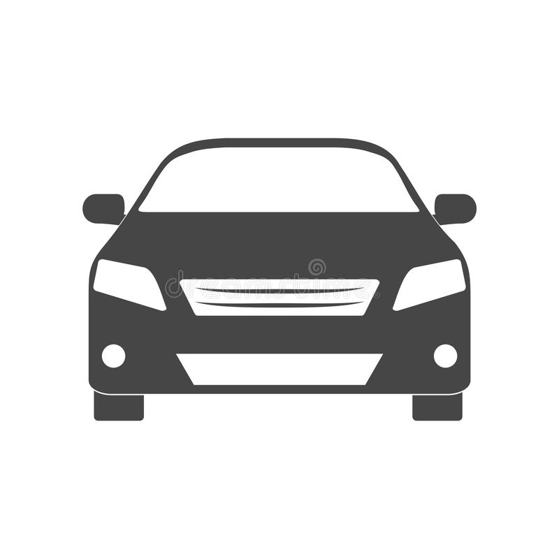 Car icon. Simple vector icon stock illustration