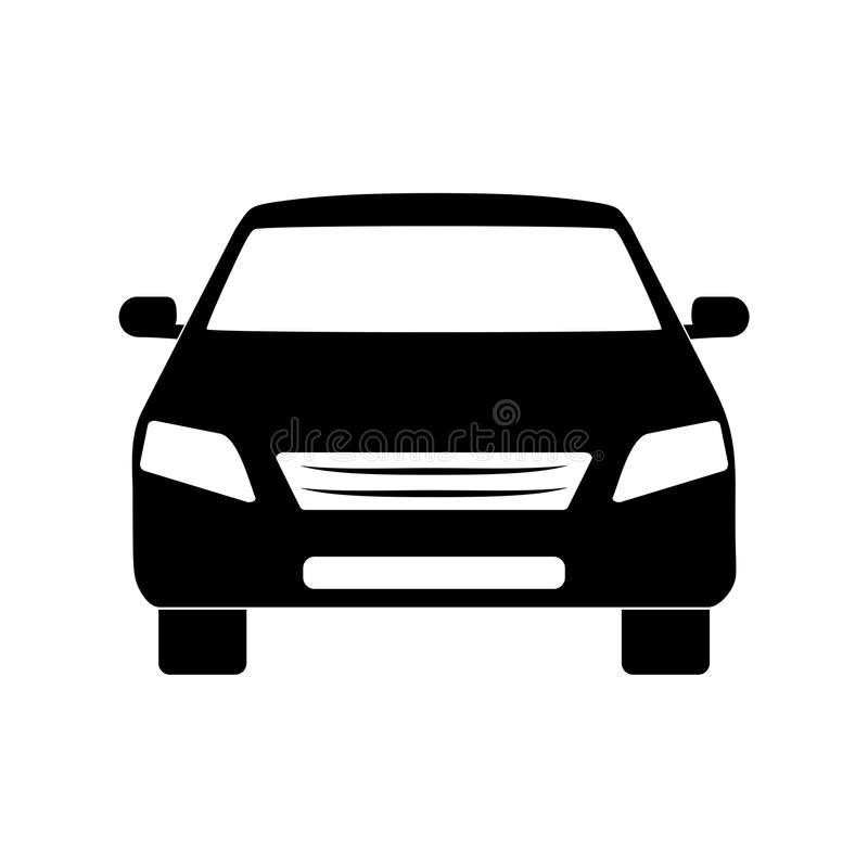Car icon. Simple vector icon stock illustration