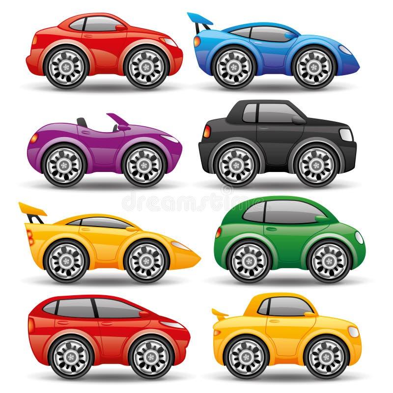 Car icons. vector illustration