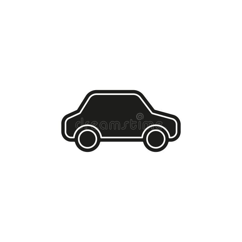car illustration isolated - vector car royalty free illustration