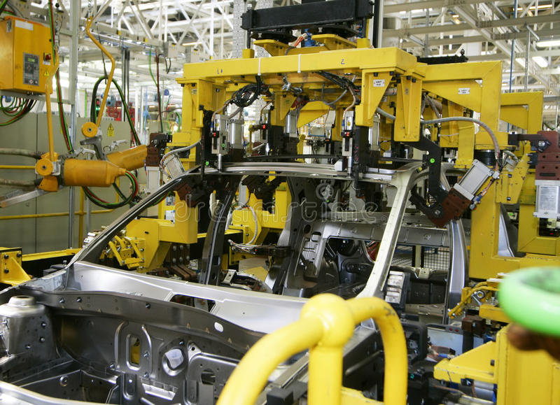 Download Car industry stock image. Image of soldered, line, industry - 10809289
