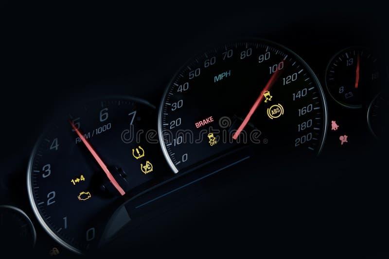 Download Car Instruments Dash stock illustration. Illustration of engine - 28326542