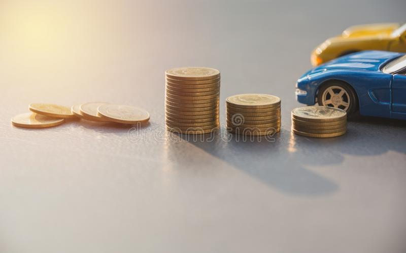 Car insurance and car services concept. Business concept. Car in. Surance concept royalty free stock images