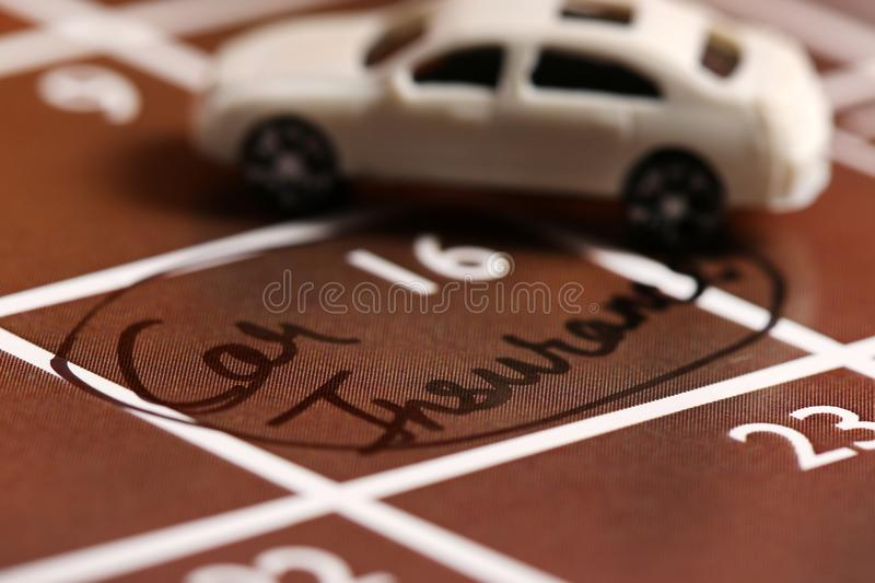 Car insurance. Concept shot of car insurance royalty free stock image