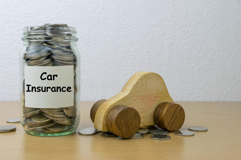 Car Insurance stock image