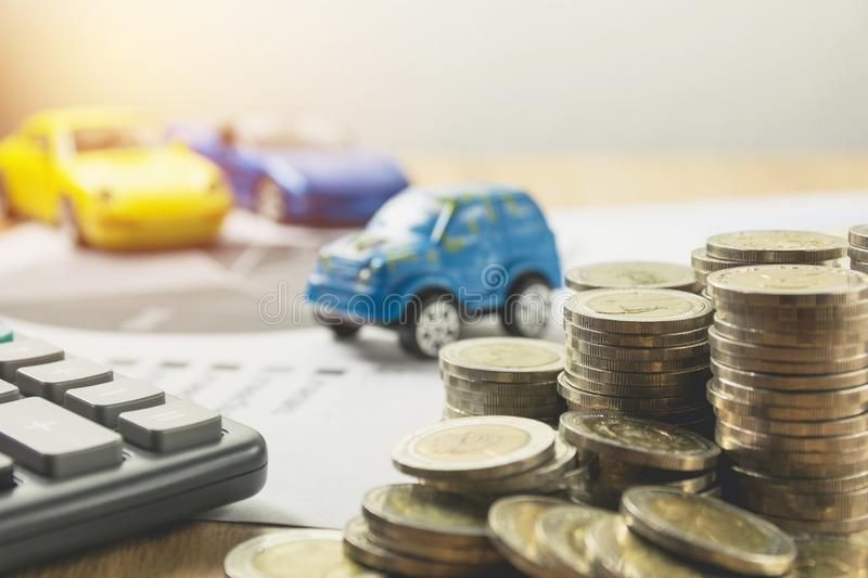 Car insurance and car services concept. Business concept. stock photos