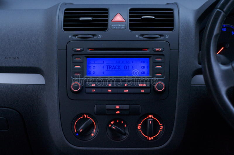 Download Car Interior stock photo. Image of vents, buttons, centre - 11143406