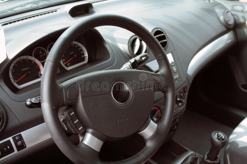 Download Car interior stock photo. Image of control, macro, leather - 12819558