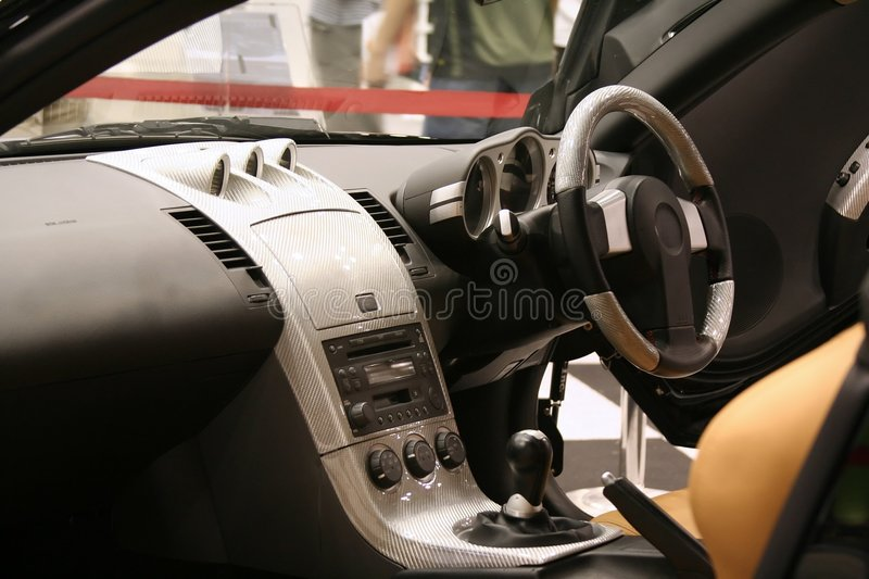 Download Car Interior stock image. Image of modern, auto, delux - 299477