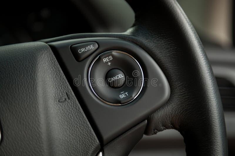 Car interior - devices royalty free stock photos