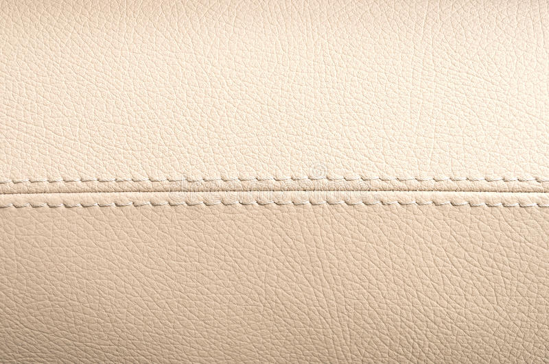 Car interior leather texture. Horizontal photo royalty free stock photos