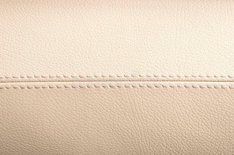 Car interior leather texture. Horizontal photo royalty free stock photos