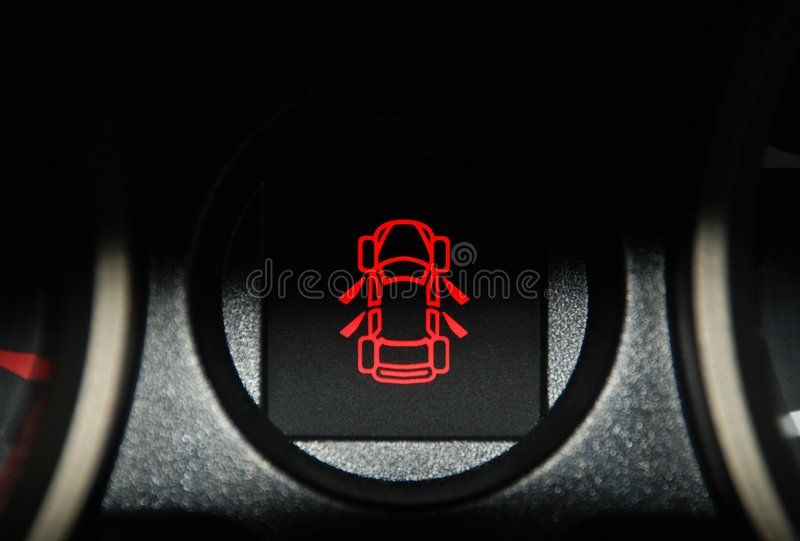 Car Interior Warning Light Stock Photo Image Of Vehicle 8546066