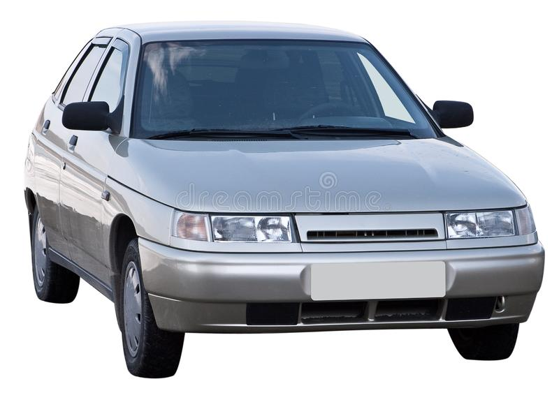 Car Isolated Stock Image